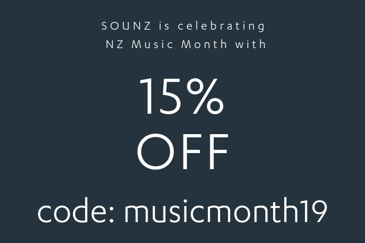 NZ Music Month Sale