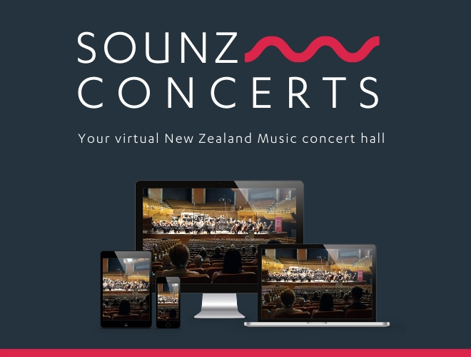 SOUNZ Concerts - Your virtual New Zealand Music hall